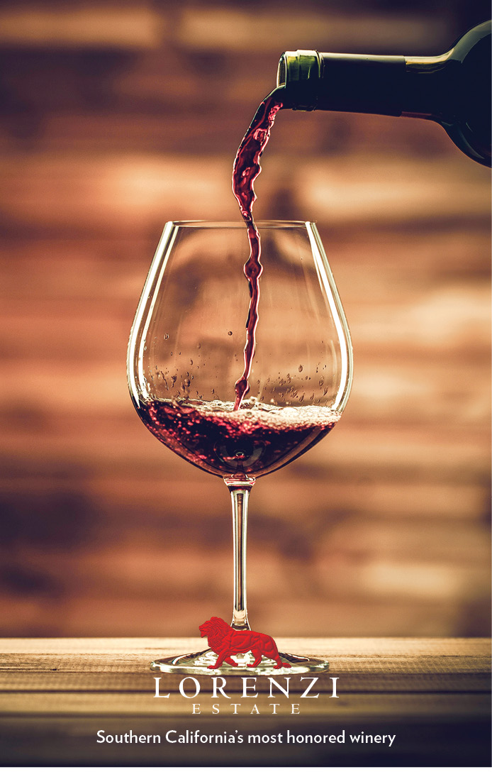 Wine pic of glass